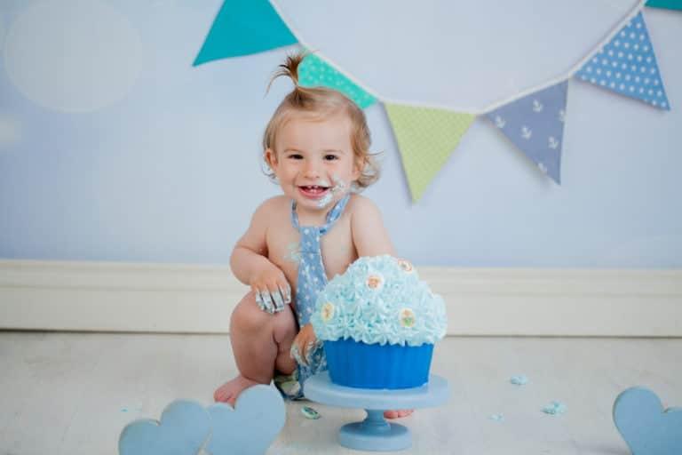 צילומי קייקסמאש לתינוק בן שנה
