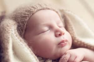 צילום ניובורן תקריב פנים לתינוק