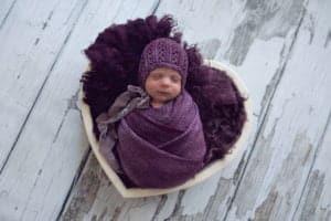 צילום ניובורן לתינוקת
