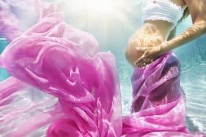 צילומי הריון מתחת למים